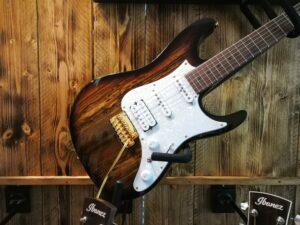 Ibanez AZ224BCG-DET Premium E-Guitar 6 String Deep Espresso Burst + Gigbag