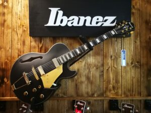 Ibanez AG85-BKF Hollowbody Guitar String Black Flat