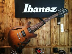 Ibanez AM73B-TF Artcore Hollowbody Guitar 6 String Tobacco Flat