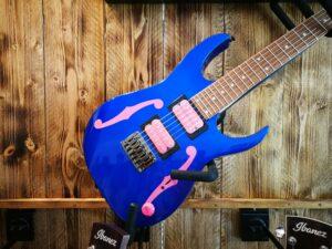 Ibanez PGMM11-JB Paul Gilbert Signature Micro E-Guitar 6 String Jewel Blue