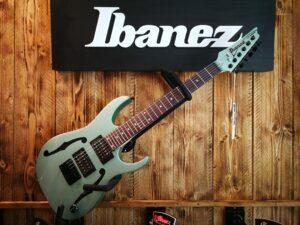 Ibanez PGMM21-MGN Paul Gilbert Signature E-Guitar Metallic Light Green