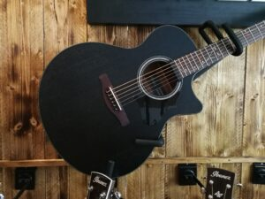 Ibanez AE295-WK AE Series Acoustic Guitar 6 String Weathered Black, B-Stock
