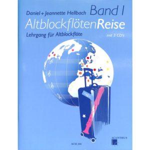 Altblockflötenreise Band 1 inkl. 3 CDs