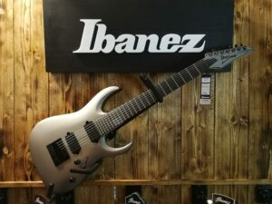 Ibanez APEX30-MGM Munky(Korn) Signature E-Guitar 7 String Metallic Gray Matte, B-Stock