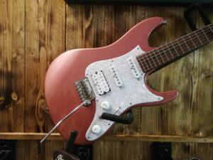 Ibanez AZ2204-HRM Prestige Hazy Rose E-Guitar + Hardcase