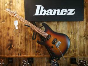 Ibanez AZ2402L-TFF Prestige Left-Handed Tri Fade Burst Flat