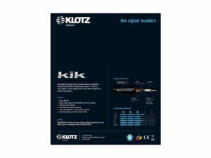 Klotz Kik Pro Instrumenten Kabel, 6m