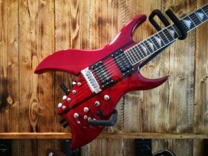 B.C. Rich Rich B Legacy Perfect 10 - Trans Red, 10-string guitar