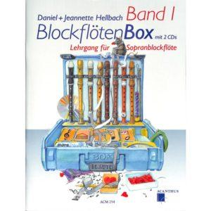 Blockflötenbox 1 inkl. 2CDs
