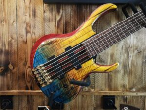 Ibanez BTB1936-SFL Premium Series E-Bass 6 String Sunset Fade Low Gloss + Bag, B-Stock