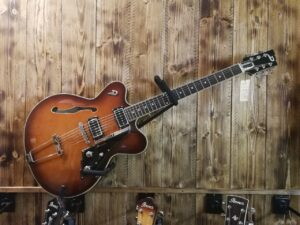 Duesenberg Fullerton Hollow, Vintage Burst incl. Case