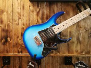 Ibanez GRGM21M-BLT Mikro E-Guitar 6 String Blue Burst