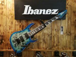 Ibanez GRGR221PA-AQB Aqua Burst, Gio E-Guitar