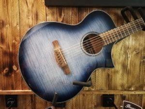 Ibanez AEWC400-IBB Indigo Blue Burst Acoustic Guitar