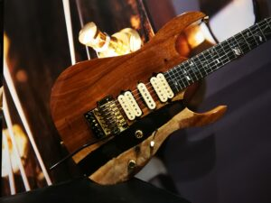 Ibanez j.custom JCRG2003-NT Natural E-Guitar Limited Edition + Case