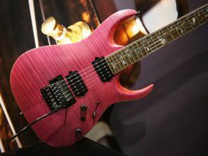 Ibanez RGA8420-RPF RGA j.custom 6 String Rhodonite Pink Flat + Case
