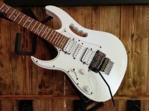 Ibanez JEMJRL-WH Steve Vai Signature E-Guitar Lefty White