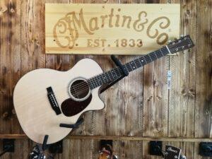 Martin GPC-16E-02 Spruce/Mahogany 2019, Made in USA + GigBag