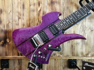 B.C. Rich Mockingbird Legacy ST with Floyd Rose - Trans Purple