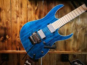 Ibanez RG5120M-FCN RG Prestige E-Guitar 6 String Frozen Ocean + Case