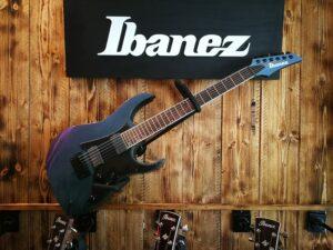 Ibanez RG631ALF-BCM Axion Label RG Series E-Guitar 6 String Blue Chameleon
