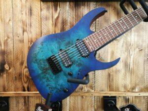 Ibanez RG7421PB-SBF RG Series E-Guitar 7 String Saphire Blue Flat Burst