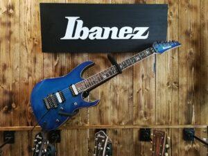Ibanez RG8520-SPB j.custom Guitar 6 String Sapphire Blue + Case
