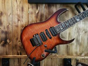 Ibanez RG8570Z-BSR j.custom Prestige Series E-Guitar 6 String Brownish Sphalerite + Case