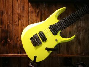 Ibanez RGDR7UCS-DYF Prestige Guitar 7-String Desert Sun Yellow Flat + Hardcase