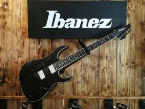 Ibanez RGR652AHBF-WK RG Prestige E-Guitar Reversed Headstock 6 String Weathered Black + Case