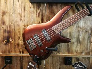 Ibanez SR305E-RBM SR-Series E-Bass 5 String Root Beer Metallic