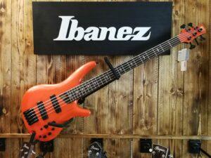 Ibanez SR4605-OSL Prestige E-Bass 5 String Orange Solar Flare + Case