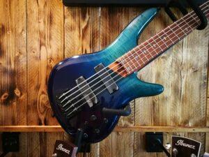 Ibanez SR875-BRG 5 String Bass Blue Reef Gradation