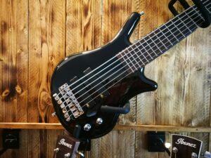 Warwick Teambuilt Pro Series Thumb BO, 6-String, Fretted - Nirvana Black High Polish
