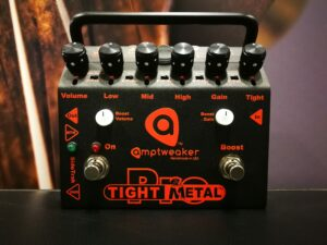 Amptweaker TightMetal Pro - Pro Series Metal Distortion / Boost