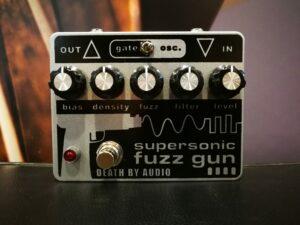 Death by Audio Supersonic Fuzz Gun