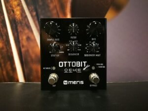 Meris Ottobit Jr. - Bit Crusher / Sample Reduction / Step Sequencer, B-Stock