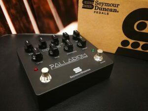 Seymour Duncan Palladium (Black) - Gain Stage / Overdrive / Boost, B-Stock