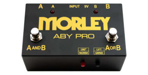 Morley ABY-PRO - Gold Series ABY Pro Selector - A/B/Y Switch