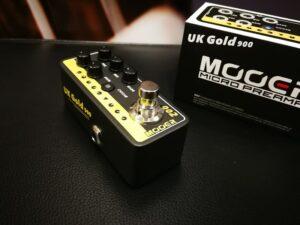 Mooer Micro PreAmp 002 - UK Gold 900