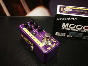 Mooer Micro PreAmp 019 - UK Gold PLX