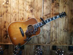 Sigma DM-SG5 Acoustic Guitar + Preamp + Gigbag