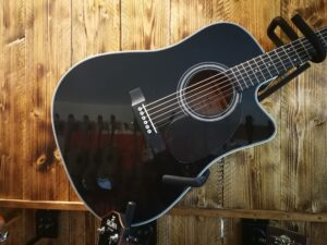 Sigma DMC-1STE-BK+ Acoustic Guitar + Preamp