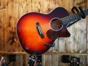 Sigma GMC-1E Cherry Burst AE, Acoustic Guitar + Preamp, Limited Edition