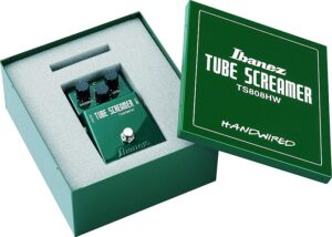 Ibanez Tube Screamer Handwired Special Edition TS808HWB Made in Japan, B-Stock