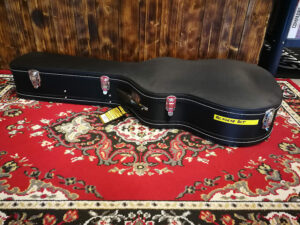Warwick RockCase RC10618BCT Classical Guitar Hardshell Case, arched Lid, curved - Black, B-Stock