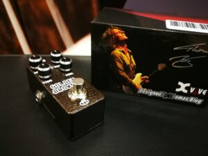 XVive T1 Golden Brownie Distortion - Thomas Blug Signature Series