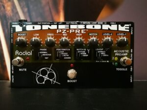Radial Tonebone PZ-Pre, Acoustic Instrument PreAmp, B-Stock