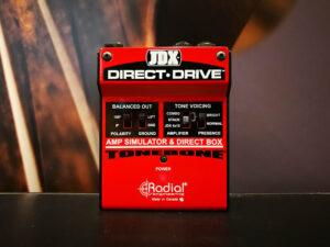 Radial JDX Direct Drive, Guitar Amp Simulator & DI Box, B-Stock