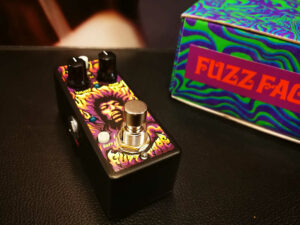 Dunlop JHW1 - Fuzz Face Distortion - Authentic Hendrix '69 Psych Series - Mini Limited Edition